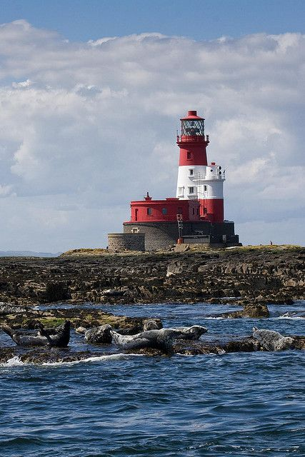 Longstone Lighthouse in Seahouses, Northumberland