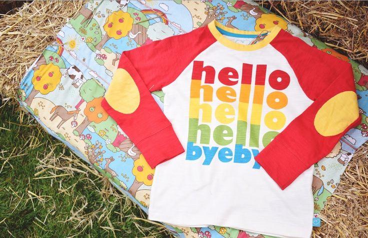 Hello hello hello hello byebye new raglan top ❤️ Little Bird By Jools Oliver AW17