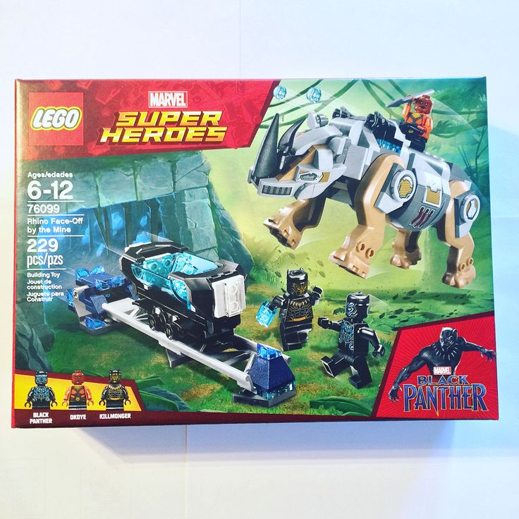One of the Black Panther LEGO sets. (I bought this one mainly for the minifigs.)  #blackpanther #blackpanthermovie #tchalla #legos #lego #legomarvel #legoblackpanther #marvel #marvelcomics #marvelcinematicuniverse #mcu #collector #collecting #addtoyourcollection