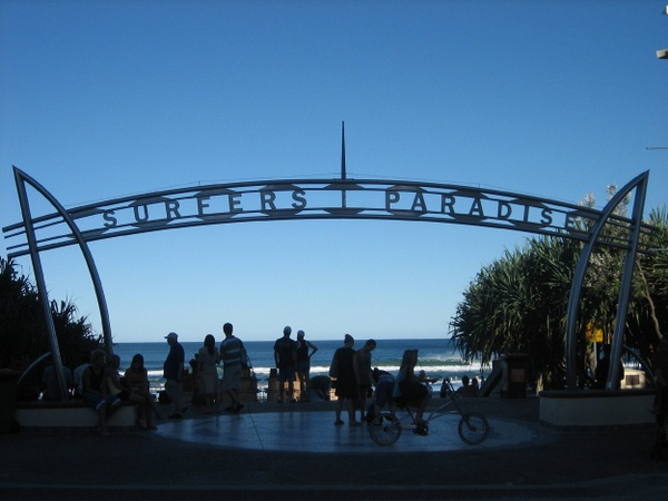Surfers Paradise Beach    #Australia