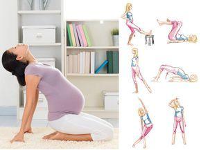 En el embarazo, estirar los músculos es fundamental para evitar contracturas y lesiones, comunes por el aumento de peso y el cambio hormonal. Practica esta tabla de estiramientos cada mañana.