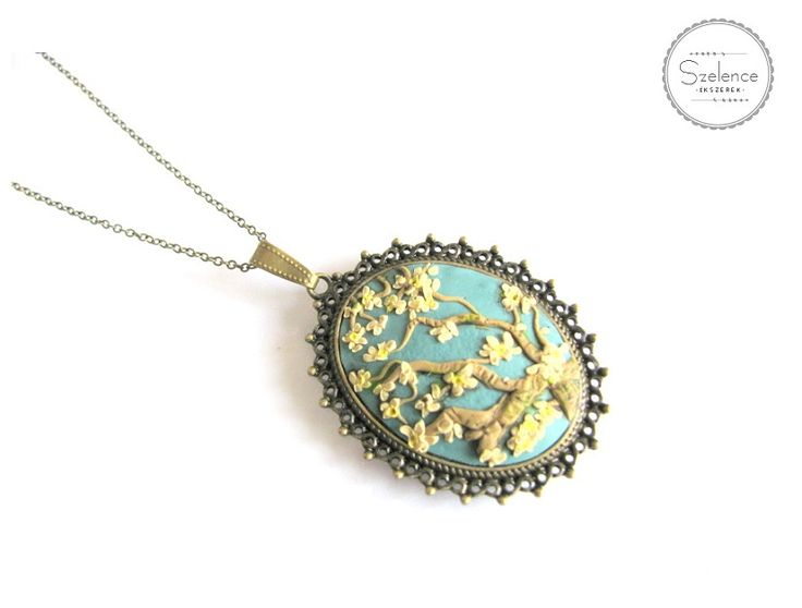 "Van Gogh ""Almond blossom"" Necklace 