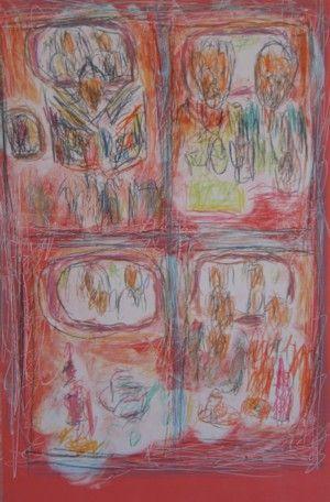 Aftermath III by David Koloane   DAVID KRUT PROJECTS