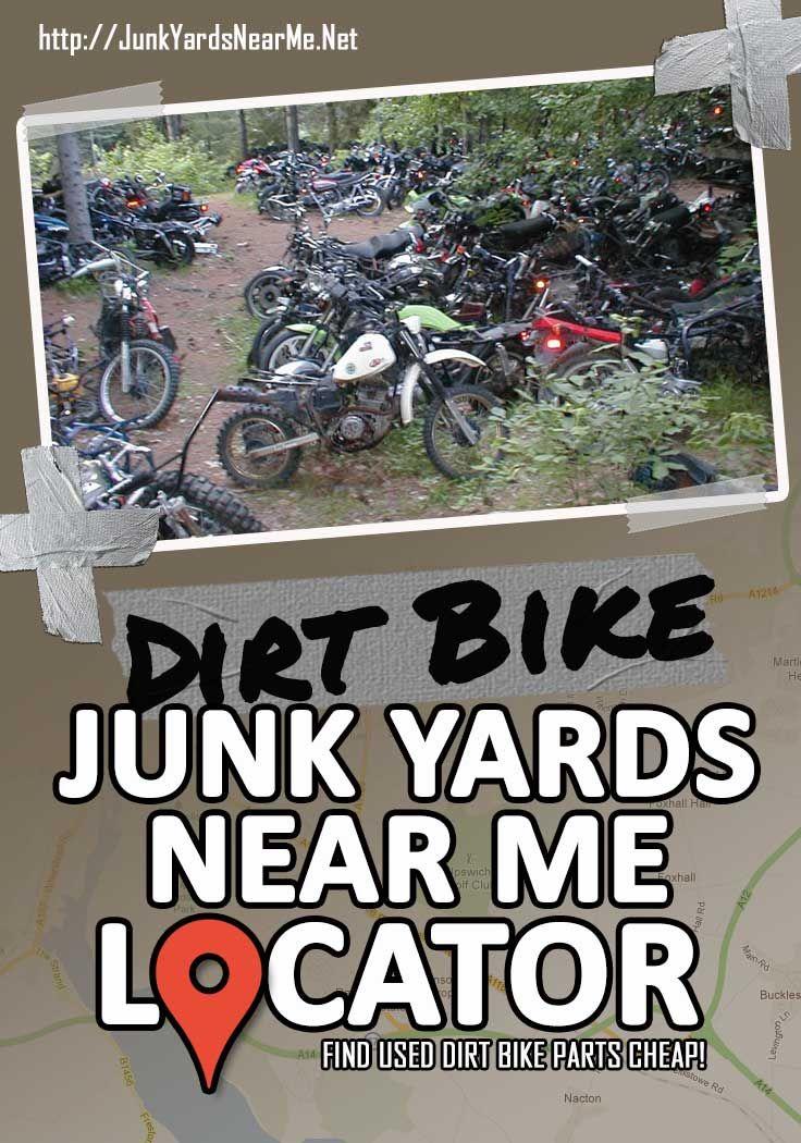 Dirt Bike Salvage Yards Near Me Dirt Bike Parts Dirt Bike Bike