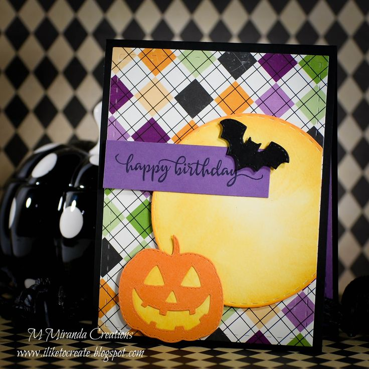 It is my day to post over on the Jaded Blossom Blog , so I have a treat for you today! I always wanted an October birthday so that I could g...