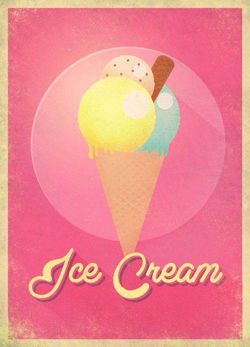 Summer Postcards by CABY, via Behance