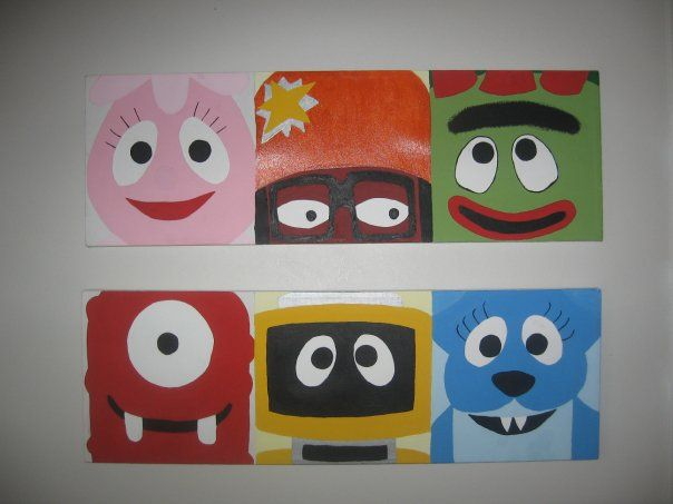17 best images about yo gabba gabba room for connor on - Yo gabba gabba bedroom decor ...