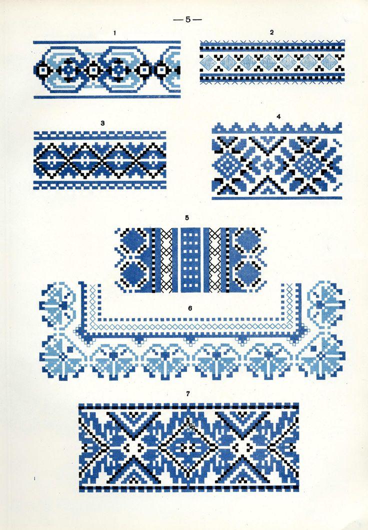https://flic.kr/p/fQaH1Z | Белорусский народный орнамент - 1953_95 | Belarusian ethnic embroidery