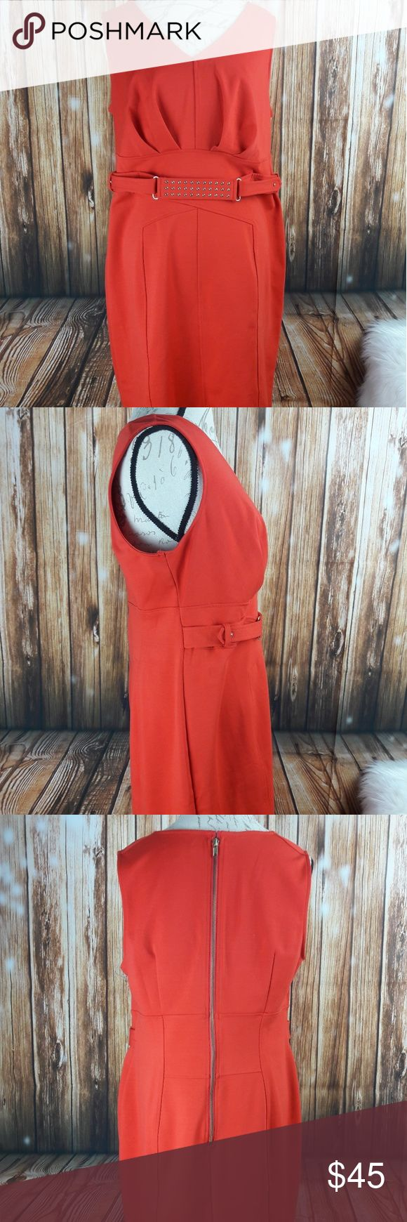 Plus size Jennifer Lopez dress Sleeveless vibrant orange dress perfect for work or a night out with the girls. Make an offer or bundle with more of your likes with a even better deal Jennifer Lopez Dresses