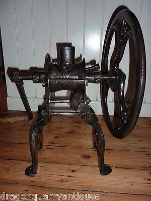 Antique-Victorian-Cast-Iron-Coffee-Mill-Grinder-Zac-Parks-Birmingham-Kitchenalia