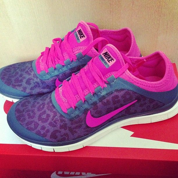 cheetah print nikes sports running shoes