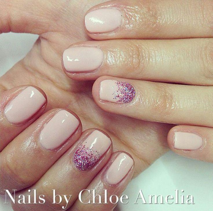 Nude nails- Calgel Manicure