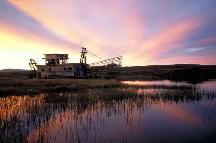 Dredging for Gold in Nome, Alaska