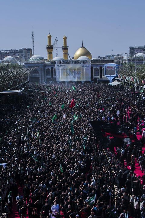 Ashura Procession 1438 / 2016- Karbala Iraq  (10 Muharram 1438 / 2016 - Karbala Iraq)  Photography: Al-Kafeel Global Network  Shia Multimedia Team - SMT http://ift.tt/1L35z55