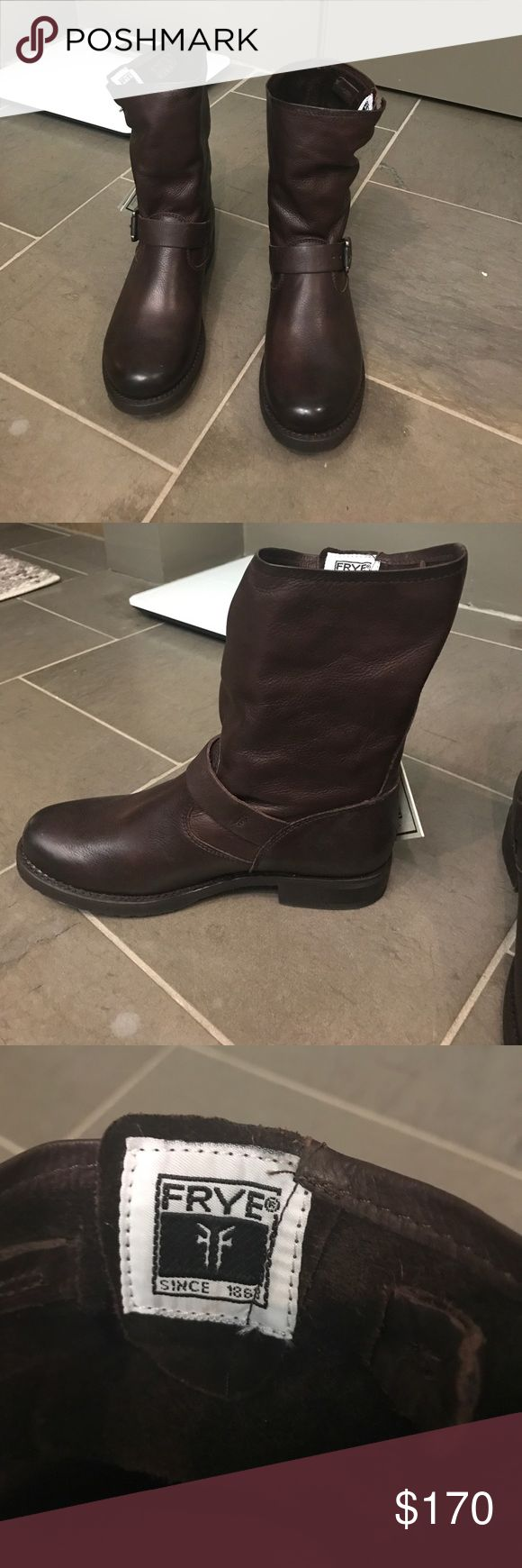 Frye Veronica short boot Brand new. Never worn. Has tags. No box. Frye Shoes Combat & Moto Boots