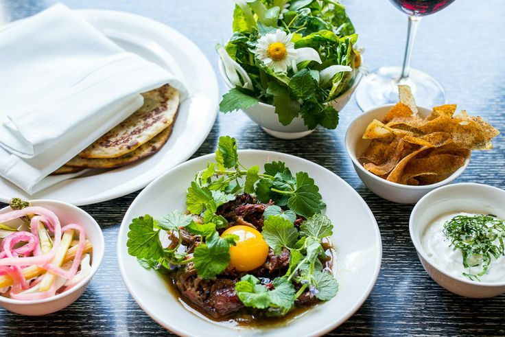 Nick Curtin's Lamb Neck and Potato Pancakes at Rosette