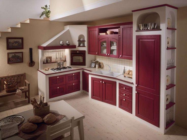 17 migliori idee su cucina in muratura su pinterest for Cucine in muratura immagini
