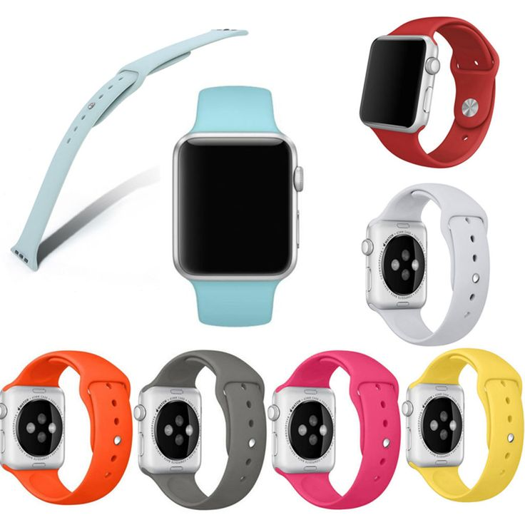 Fishion Sports Replacement Wristband Strap Band Watchband For Apple Watch Iwatch