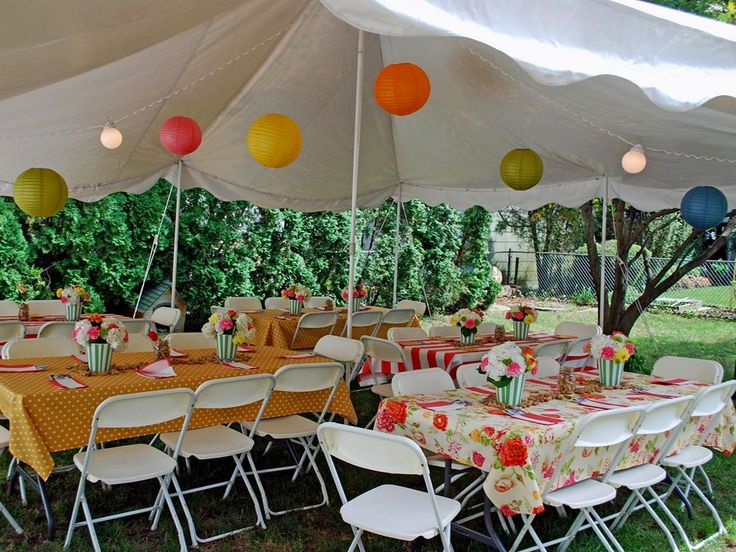 45 Incredible Decoration For Back Yard Party Ideas