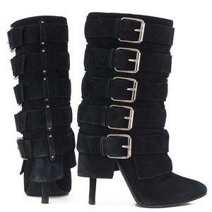 BALMAIN black boots size 38