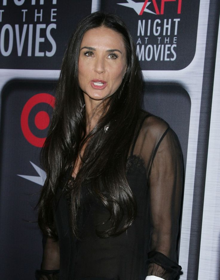 Demi Moore's 32 year-old boyfriend, her daughter's ex, has moved in with her