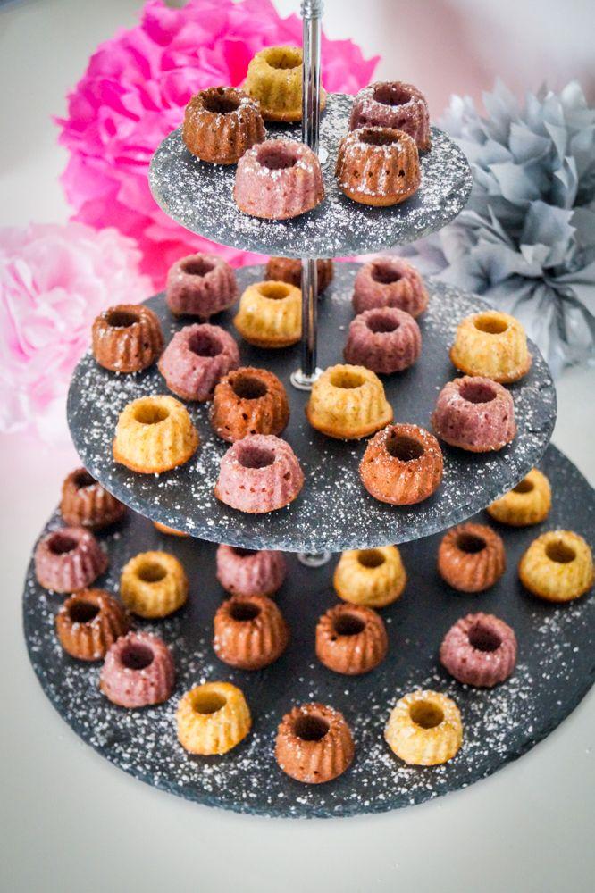 Dreierlei Gugl - Himbeer, Baileys & Schokolade