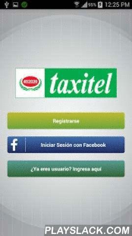 Taxitel  Android App - playslack.com , Esta es la aplicación de reserva de taxis de la ciudad de Arequipa Perú.- Rapidez: llegamos a recogerlo de 5 a 10 minutos- Seguridad: la reconocida empresa de taxi de Arequipa, Taxitel, atenderá los pedidos de taxi.- Simple: Llame el taxi más cercano, sólo con unos click.- Oportuno: Ver el taxi que viene en tiempo real mediante Google Maps- App Gratuito: Aplicación 100 % libre para pasajero y conductor del taxi- Práctico y fácil: Taxitel te localiza…