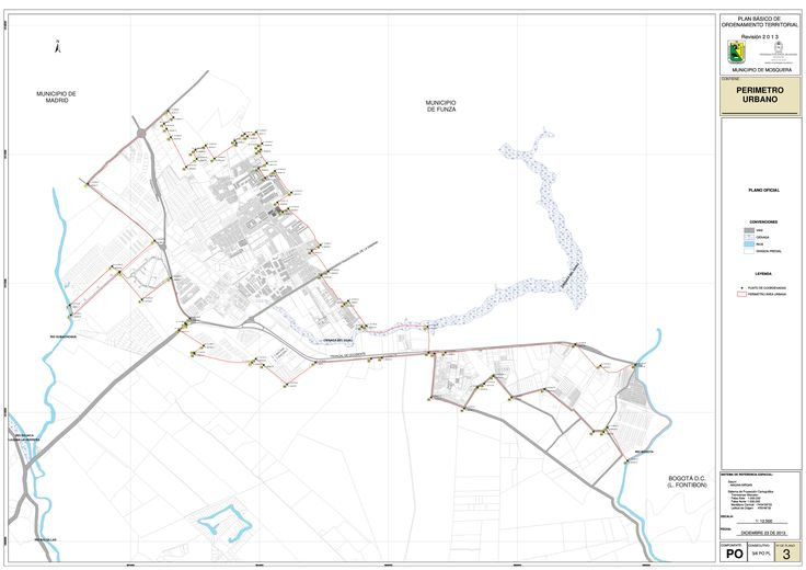 imagen de mapa de Delimitación Perímetro Suelo Urbano