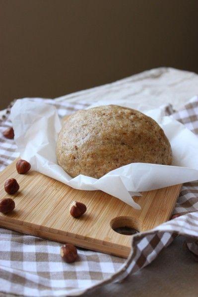 Pâte à Tarte Moelleuse à la Noisette {rapide et sans robot ni rouleau à pâtisserie} @ La Cuisine d'Anna & Olivia #vegan #végétal
