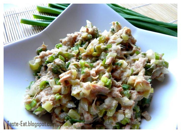 Pasta z tuńczyka- wyrazista i dietetyczna