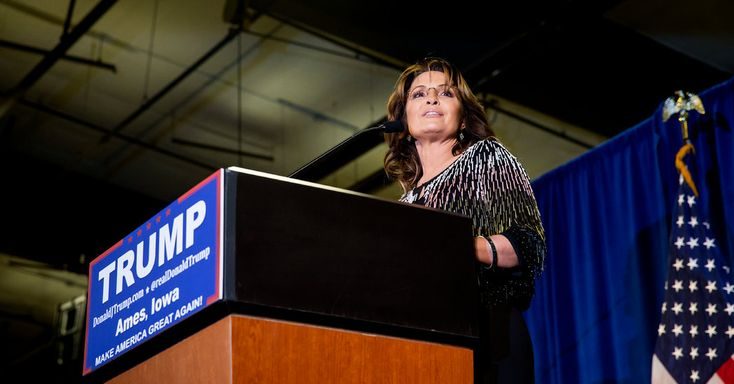 Mrs. Palin returned to the campaign trail with her rousing speech in support of Donald J. Trump. But some of her expressions left the audience puzzled.
