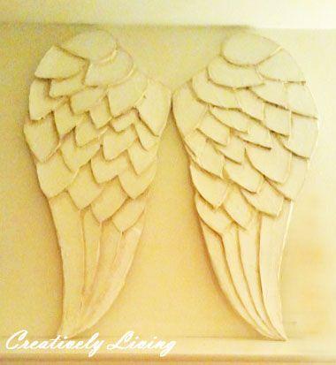 21 best Angel Wings Decor images on Pinterest | Diy angel wings ...