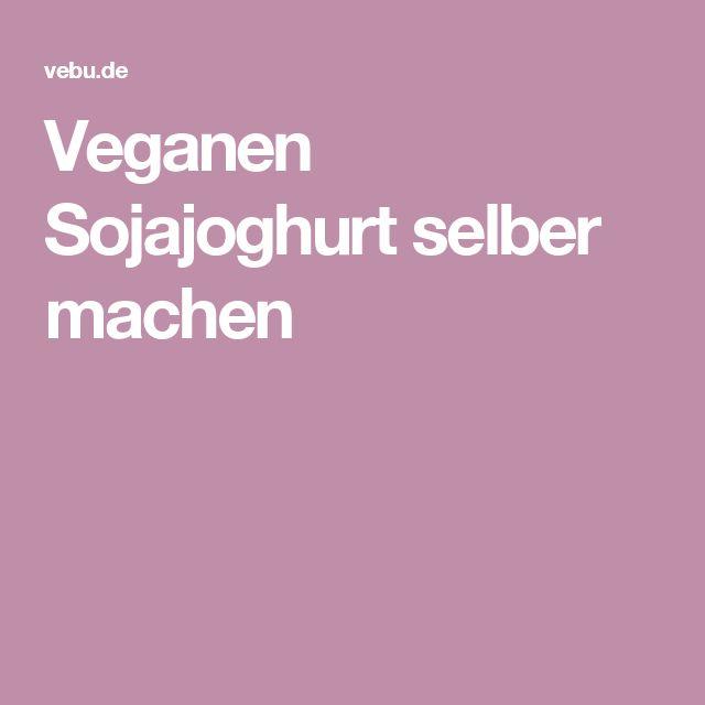 veganen sojajoghurt selber machen vegan joghurt k se. Black Bedroom Furniture Sets. Home Design Ideas