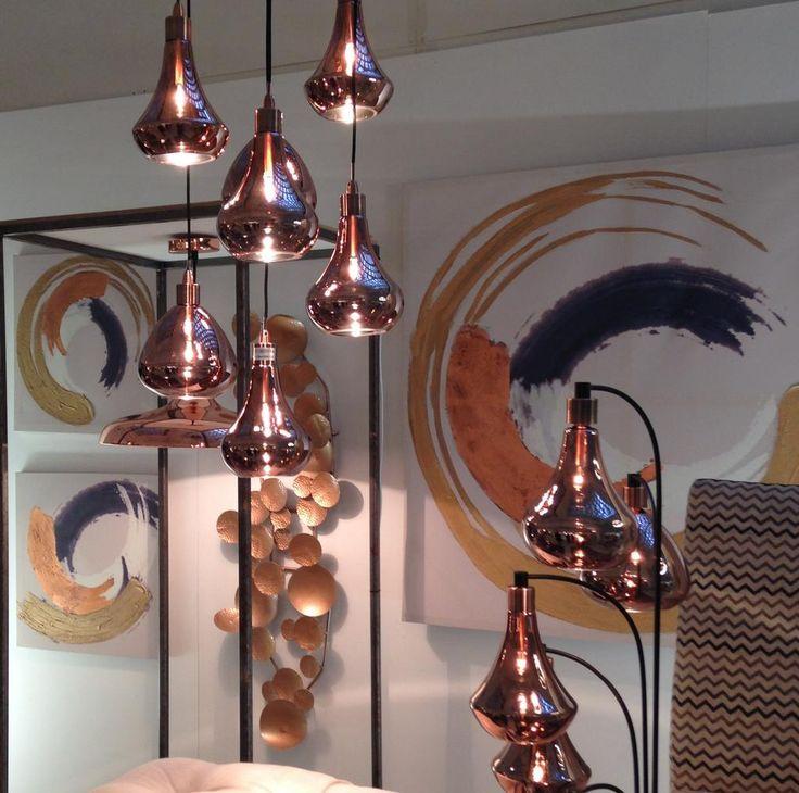 Gleaming Gorgeous Copper Pendant Lamps @nextofficial #nextpressday.