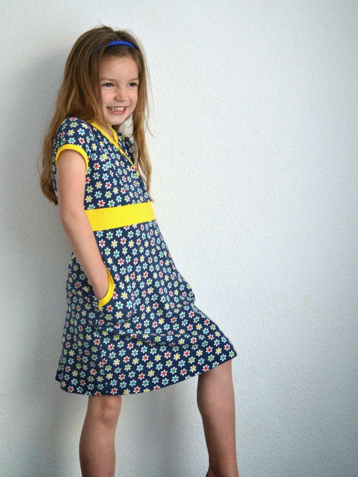 Tutorial Princess Castle dress (Ottobre 4/13) en veel nuttige tricottips (zonder overlock!)