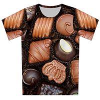 2017 Nouveau Mode Femmes Hommes 3D T-shirt Galaxy Animal Cat Bande Dessinée Fleur Imprimé T-Shirt À Manches Courtes Casual T-shirts Tops Camisetas