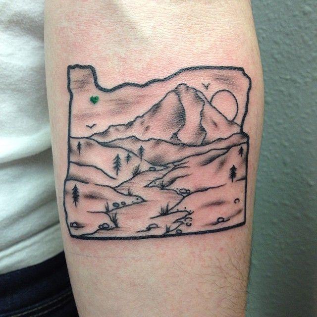 25 best ideas about oregon tattoo on pinterest tiny