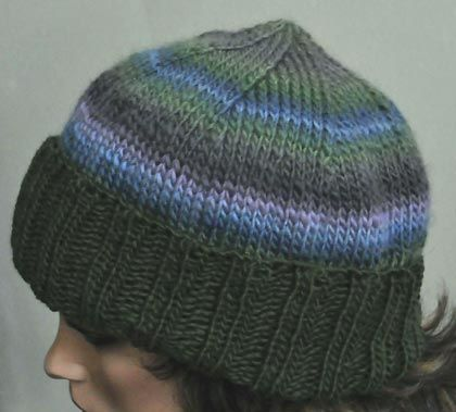Poof Hat Knitting Pattern/ Note: If you desire a tighter ribbing, use needles...