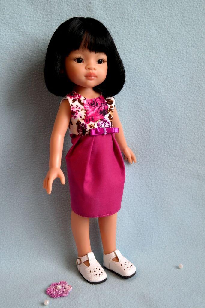 Два платья для Лиу Paola Reina / Одежда для кукол / Шопик. Продать купить куклу / Бэйбики. Куклы фото. Одежда для кукол