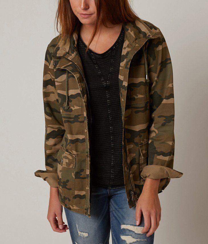 BKE Camo Jacket - Women's Coats/Jackets - Canvas | Buckle