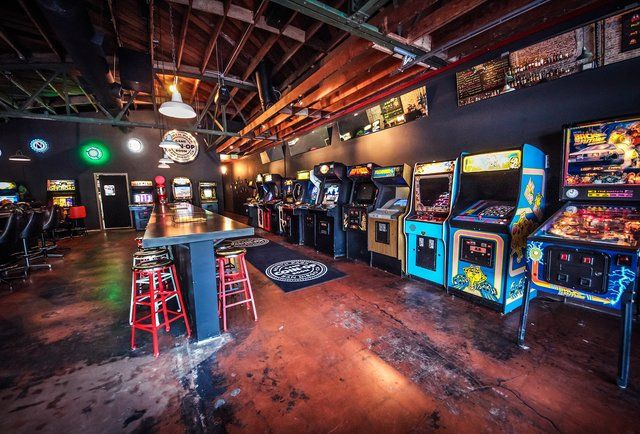 Play Street Fighter and drink serious cocktails under one roof