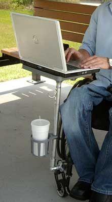 ezEnabler Portable Wheelchair Tray
