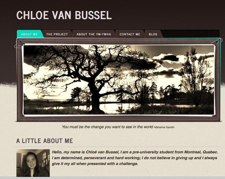 Chloe Van Bussel - YMCA project - Montreal - Québec