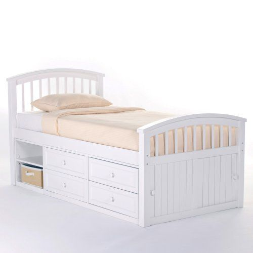 schoolhouse captain bed white kids captains beds at hayneedle
