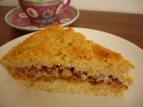Jahelník s jablky-základní recept