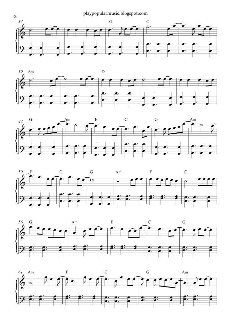 all of me easy piano sheet music free pdf