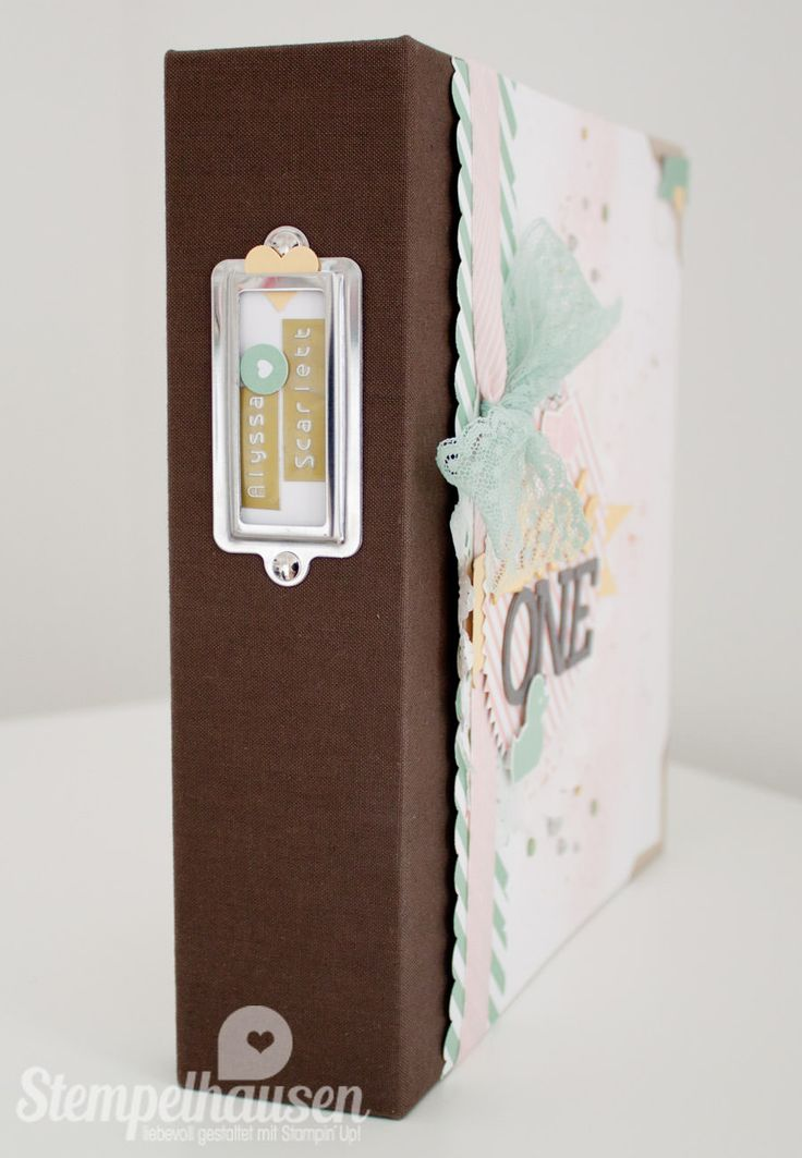 Stampin' Up! Project Life Album Baby Girl 42