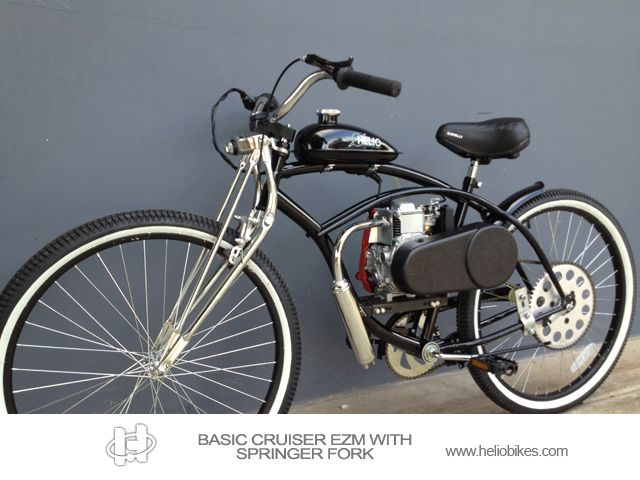 Find the best models and powerful 4 stroke motorized bicycle at HelioBikes for a great adventure riding experience. See more collections to visit us. heliobikes.com
