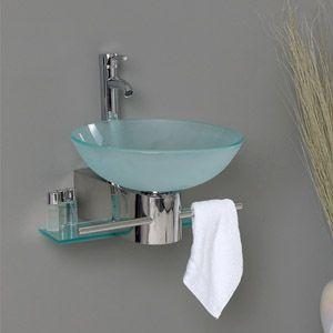 187 Best Small Bathroom Images On Pinterest  Bathroom Half Captivating Small Bathroom Vessel Sink Decorating Design