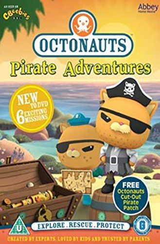 Octonauts - Pirate Adventures - INCLUDES FREE EYE PATCH [DVD]